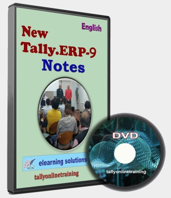 elearning solutions Tally Erp 9 Notes in English