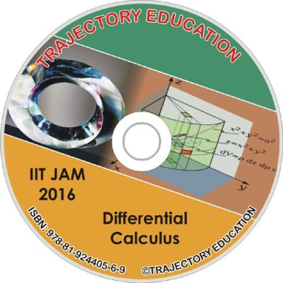 Trajectory Education Differential Calculus (IIT Jam Maths 2016)(DVD)