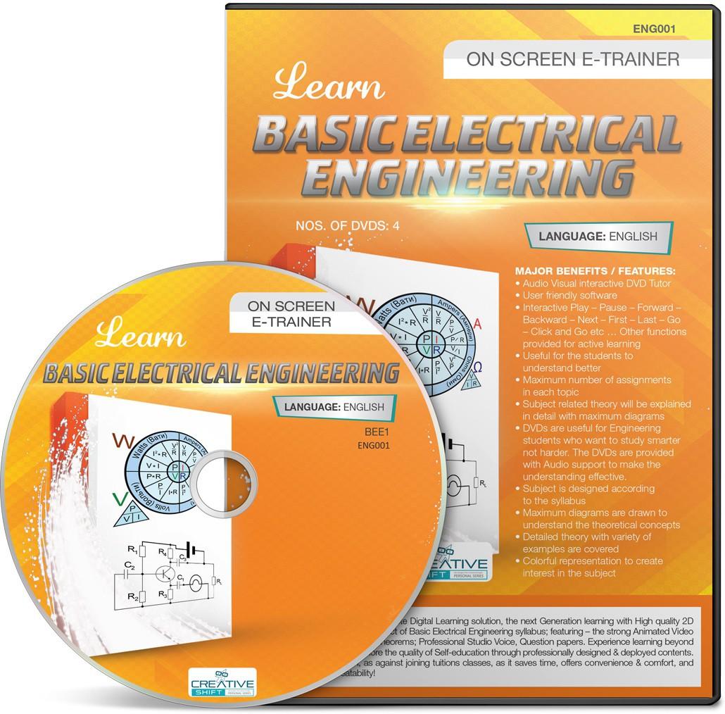 CreativeShift Basic Electrical Engineering (English)(DVD)