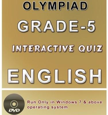 iBooks Class 5 English Olympiad Interactive Quiz DVD
