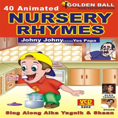 Golden Ball 40 Animated Nursery Rhymes Johny Johny Yes Papa