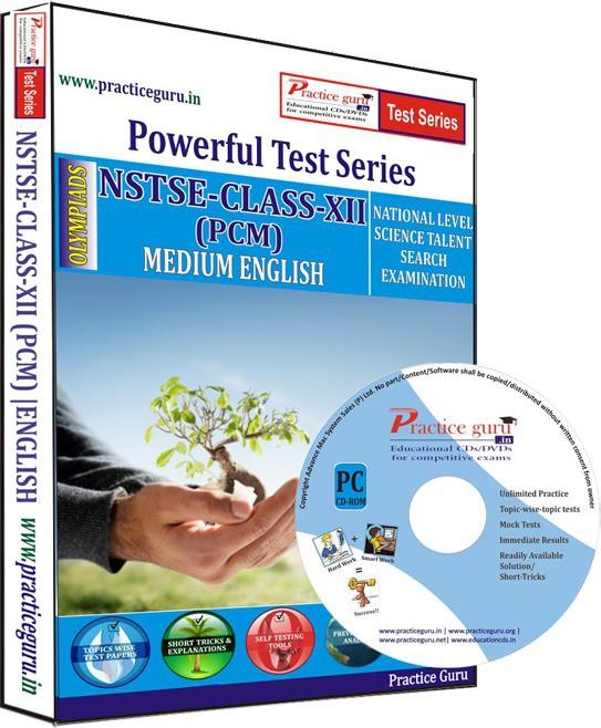 Practice Guru NSTSE Class 12 (PCM) Test Series(CD)