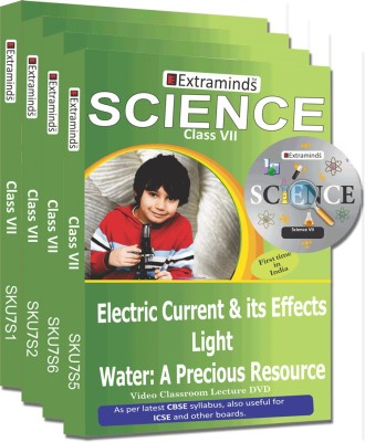 Extraminds Class VII – Combo Science – Lecture DVD