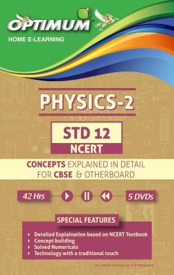 Optimum Educators STD 12 CBSE/NCERT Physics- Part 2