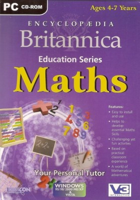 Britannica ENCYCLOPEDIA BRITANNICA MATHS (Ages 4-7)
