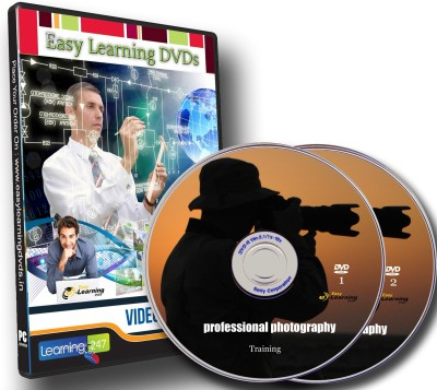 Easy Learning Professional Photography Video Training On 2 DVDs