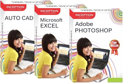Inception Learn Auto Cad+Microsoft Excel+Adobe Photoshop (Inception Success Series - 3 Cds)