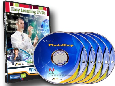Easy Learning The Top Secrets of Photoshop Complete Video Tutorial on 5 DVDs