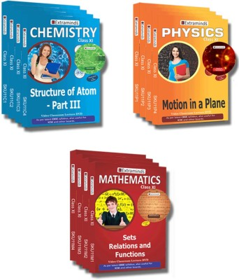Extraminds Class XI – Combo – Physics-Chemistry-Maths- Lecture DVD
