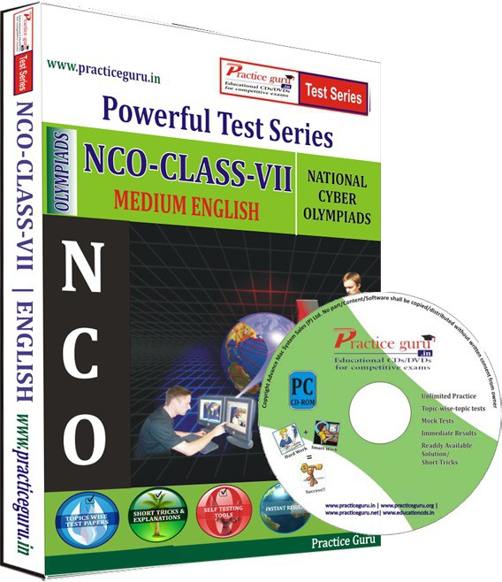 Practice Guru NCO Class 7 Test Series(CD)