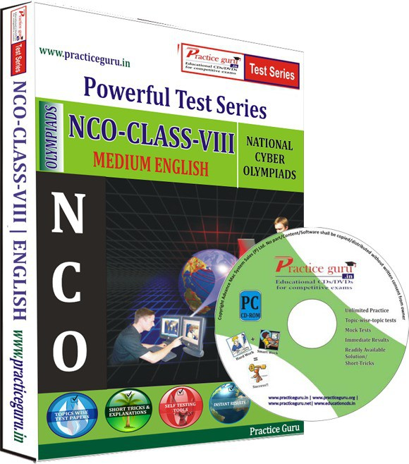 Practice Guru NCO Class 8 Test Series(CD)
