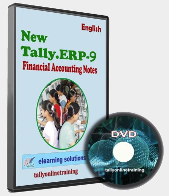 elearning solutions Tally ERP 9 Financial Accounting Notes in English