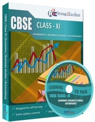 Average2excellent Class 11 Combo Pack (Accountancy, Business Studies and Economics)