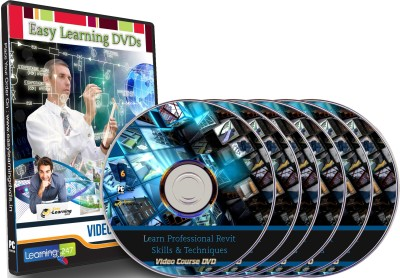 Easylearning Professional Revit Skills & Techniques 40 Courses Videotraining On 6 Dvds Pack(DVD)