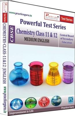 Practice Guru CBSE - Powerful Test Series Chemistry Medium English (Class 11 & 12)