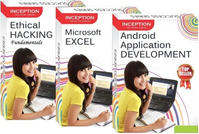 Inception Learn Ethical Hacking+Android App. Development+Microsoft Excel (Inception Success Series - 3 Cds)