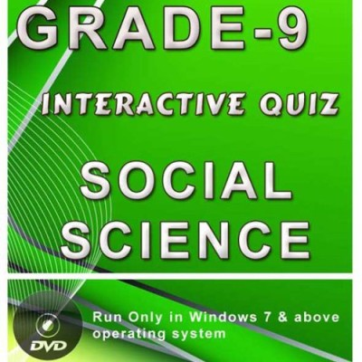 iBooks Class 9 Social Science Interactive Quiz DVD