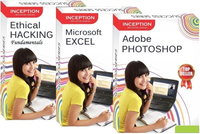 Inception Learn Ethical Hacking+Microsoft Excel+Adobe Photoshop (Inception Success Series - 3 Cds)