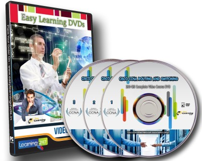 Easy Learning CCNA Routing and Switching 200-120 Complete Video Training Course on 3 DVDs