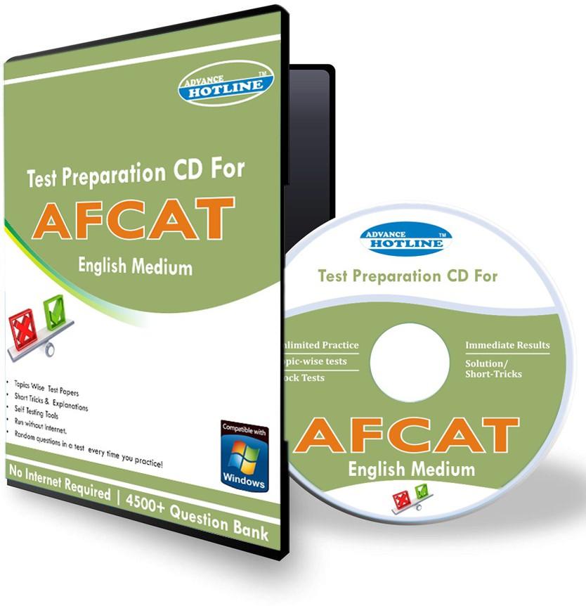 Advance Hotline AFCAT Target (English)(CD)