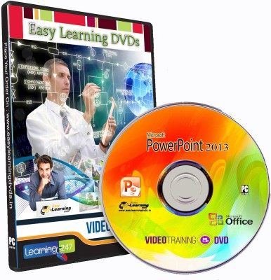 Easy Learning MS PowerPoint 2013 Essential Training Video Training DVD