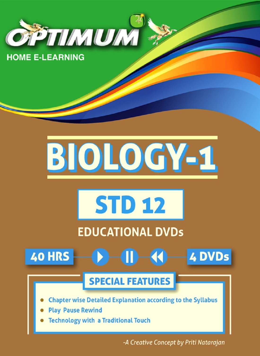 Optimum Educators HSC- Class 12- Biology Part 1(DVD)