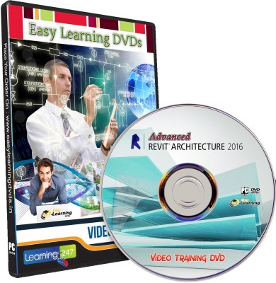 Easy Learning Advanced Revit Architecture 2016 Video Training Tutorial DVD