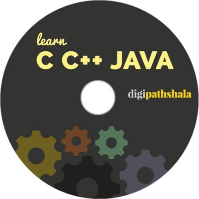 Digi Pathshala Learn C, C++ and Core Java Programming DVD Video Lectures (10 Hours of content and 140+ videos)