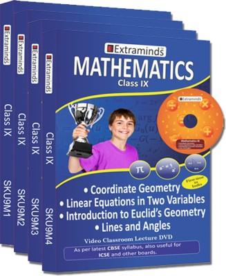 Extraminds Class IX - Combo Maths - Lecture DVD