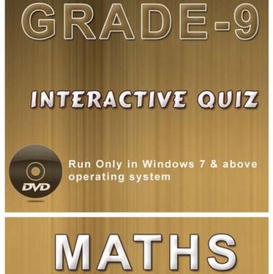 iBooks Class 9 Mathematics Interactive Quiz DVD