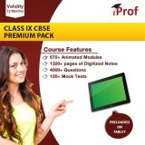 iProf Class 9th Cbse Premium Pack In Edu...