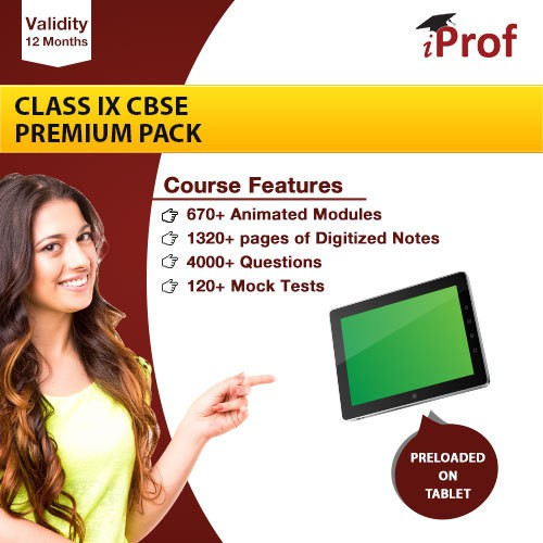 iProf Class 9th Cbse Premium Pack In Educational Tablet(Educational Tablet)