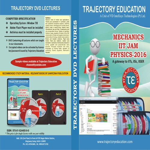 Trajectory Education Mechanics Iit Jam Physics 2016(DVD)