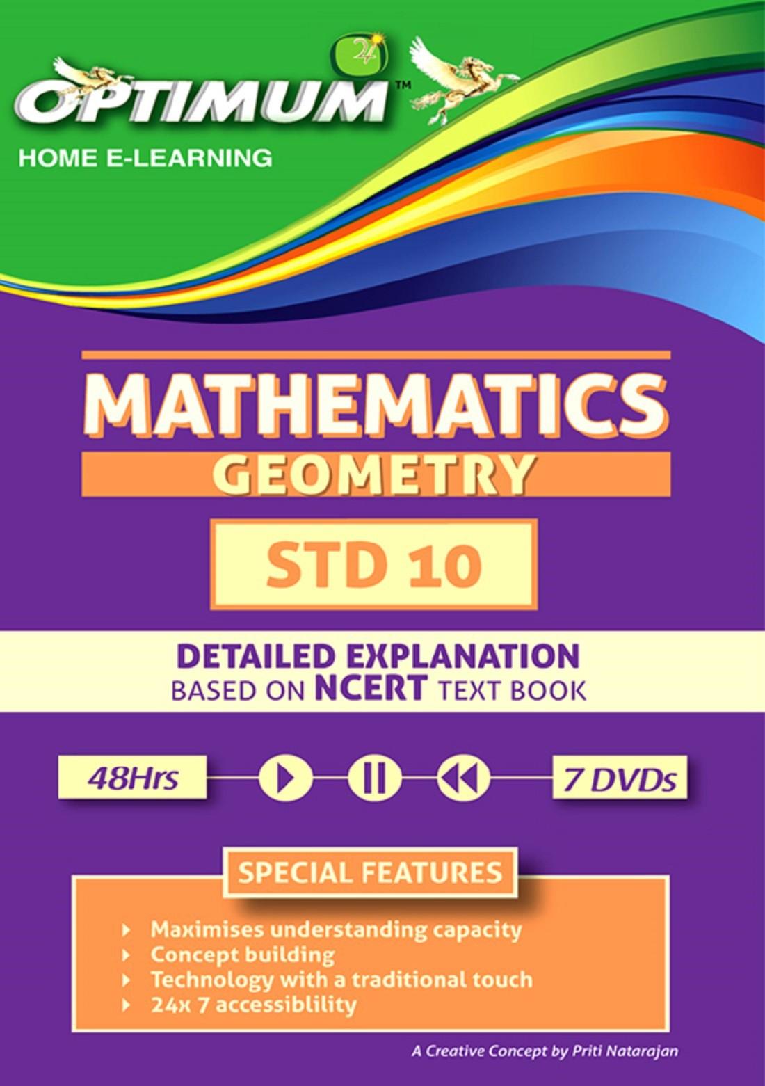 Optimum Educators CBSE-Class 10-Geometry(DVD)