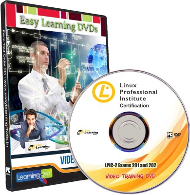 Easy Learning Linux Professional Institute Certification LPIC-2 Exams 201 and 202 Video Training DVD(DVD)