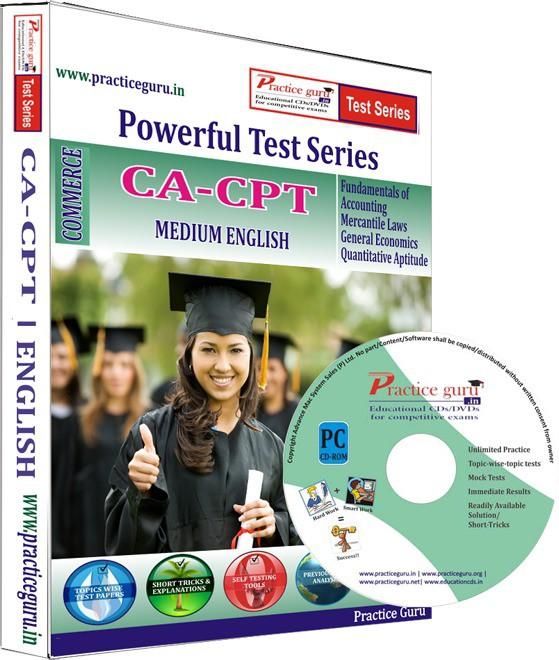 Practice Guru CA-CPT Test Series(CD)