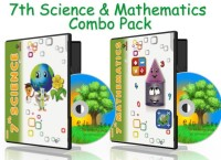 Edutree 7TH Science-Maths -ComboPack CBSE-NCERT Animated e Book (13-14 hrs Duration)(6 CDs Pack -Prepared by team of expert teachers.)