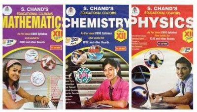 S.Chand PHYSCIC/CHEMISTRY/MATHS- COMBO PACK CD FOR 12TH CLASS
