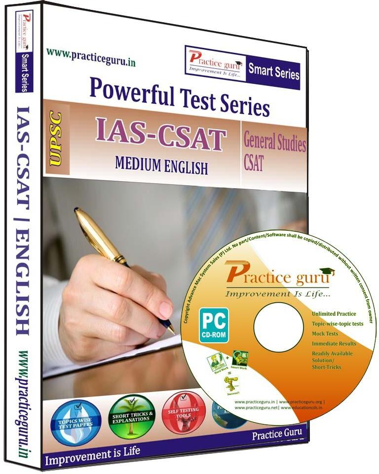 Practice Guru IAS-CSAT (English)