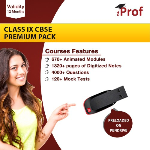 iProf Class 9 Premium Pack(Pen drive)