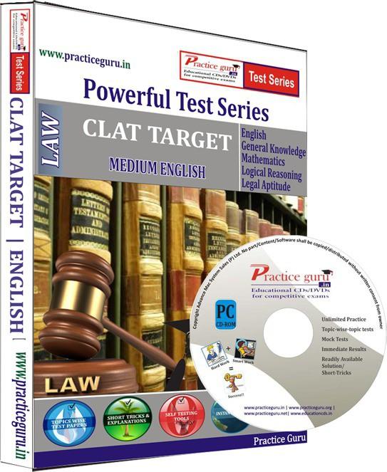 Practice Guru CLAT Target Test Series(CD)