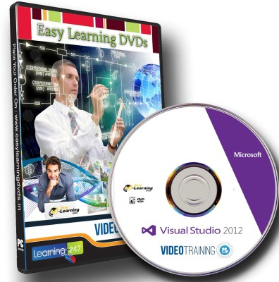 Easy Learning Visual Studio 2012 Video Training Tutorial Course DVD