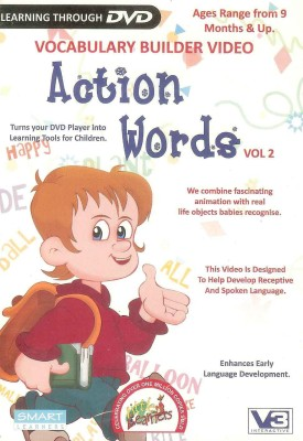 Little Learners Action Words Vol.2