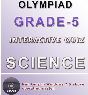 iBooks Class 5 Science Olympiad Interactive Quiz DVD