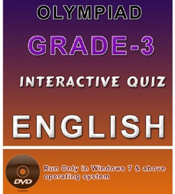 iBooks Class 3 English Olympiad Interactive Quiz DVD