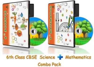 Edutree 6TH Science-Maths -ComboPack CBSE-NCERT Animated e Book (13-14 hrs Duration)