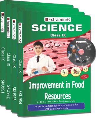 Extraminds Class IX – Combo Science – Lecture DVD