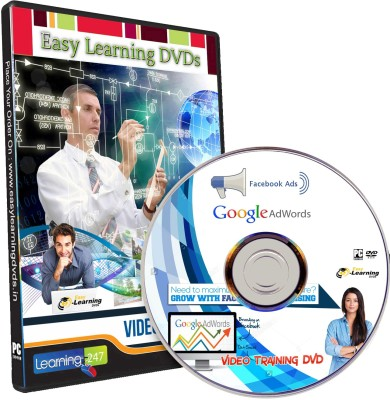 Easy Learning GOOGLE ADWORDS AND FACEBOOK ADS Marketing Video Training DVD
