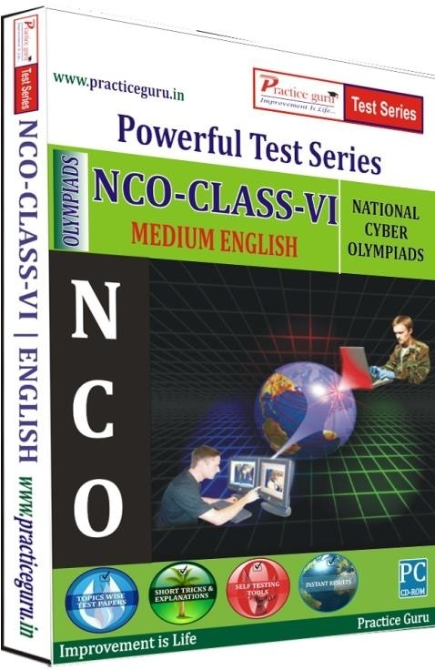 Practice Guru Powerful Test Series - NCO Medium English (Class - 6)