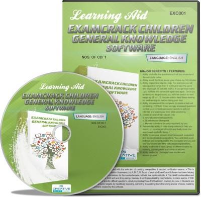 CreativeShift ExamCrack Children General Knowledge (English) Software